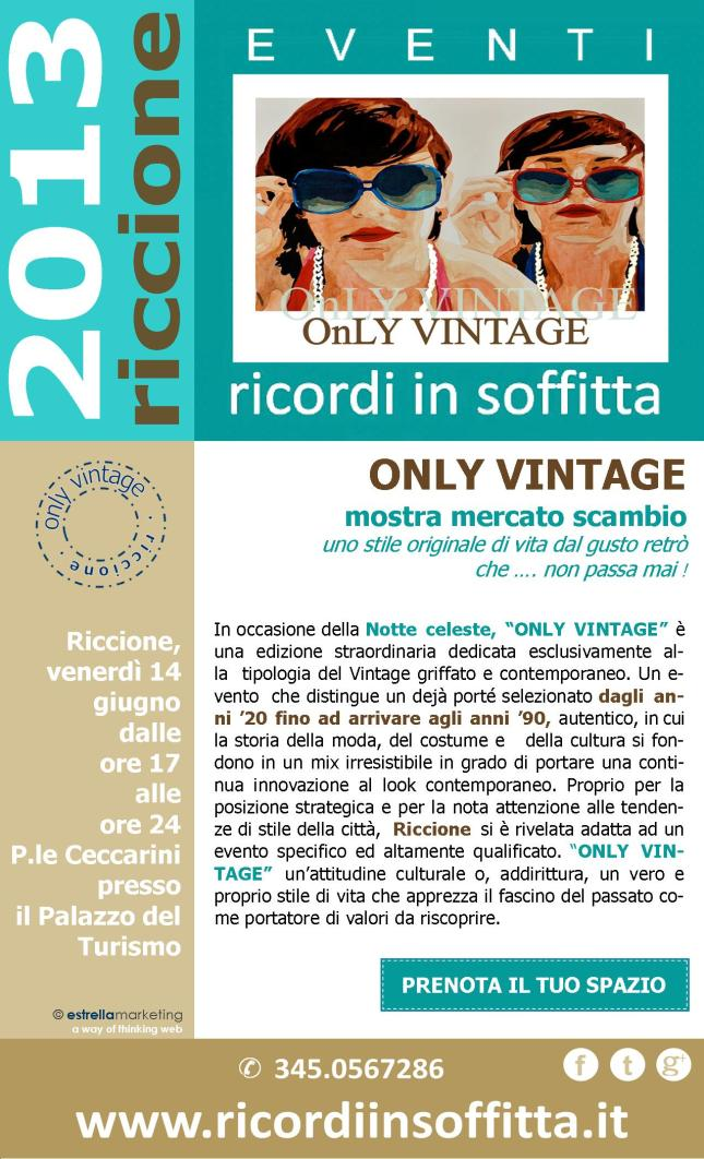 ONLY VINTAGE 2013 sito