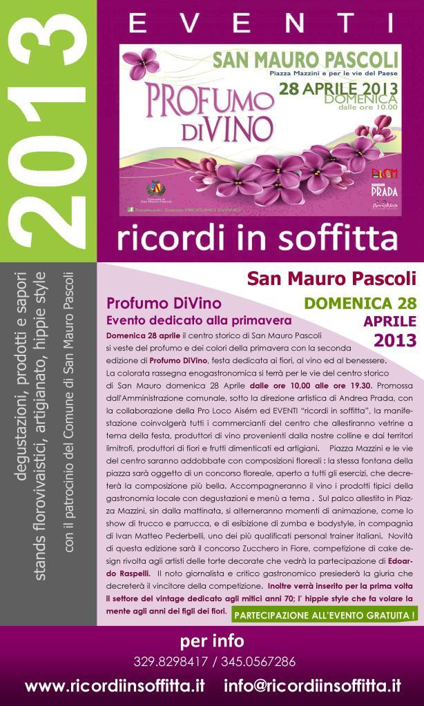 Volantino Profumo di Vino 2013