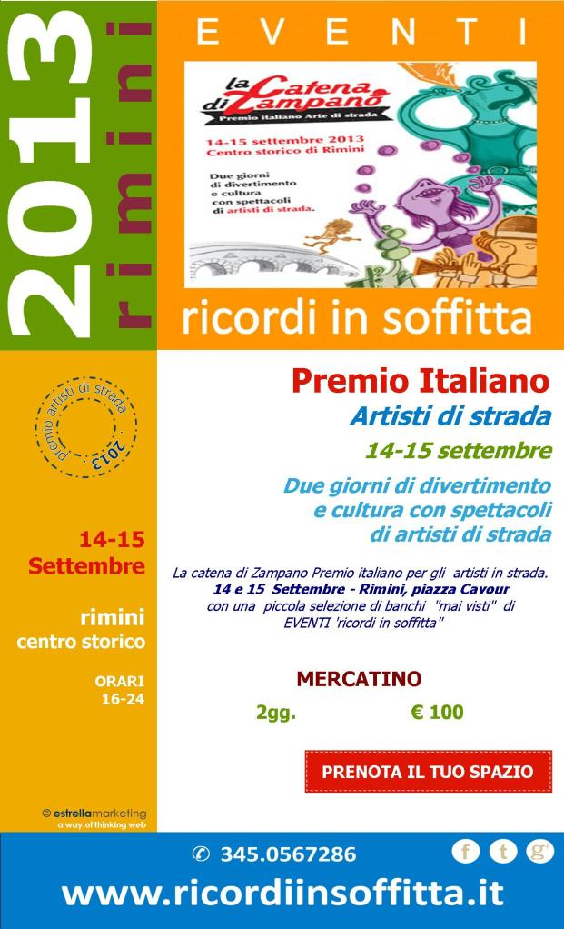 NEWSLETTER CATENA DI ZAMPANO 2013